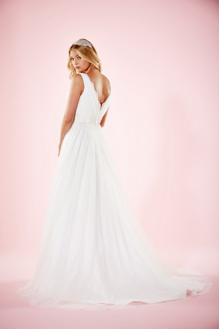 Picture of Back of Amba Wedding Dress - Charlotte Balbier Willa Rose 2016 Bridal Collection