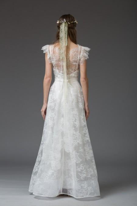 Picture of Back of Andrea Wedding Dress - Katya Katya Shehurina Venice 2016 Bridal Collection