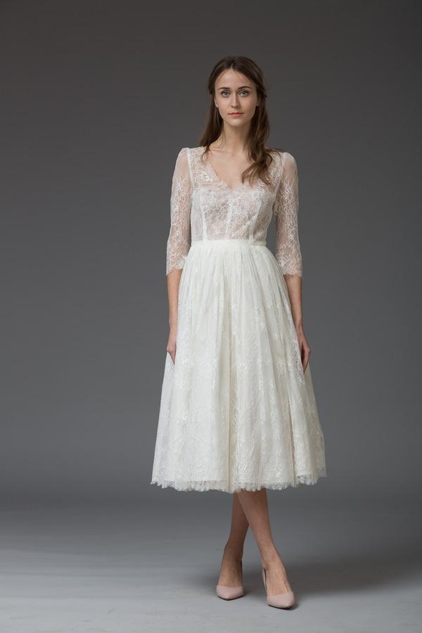 Picture of Anna Short Wedding Dress - Katya Katya Shehurina Venice 2016 Bridal Collection