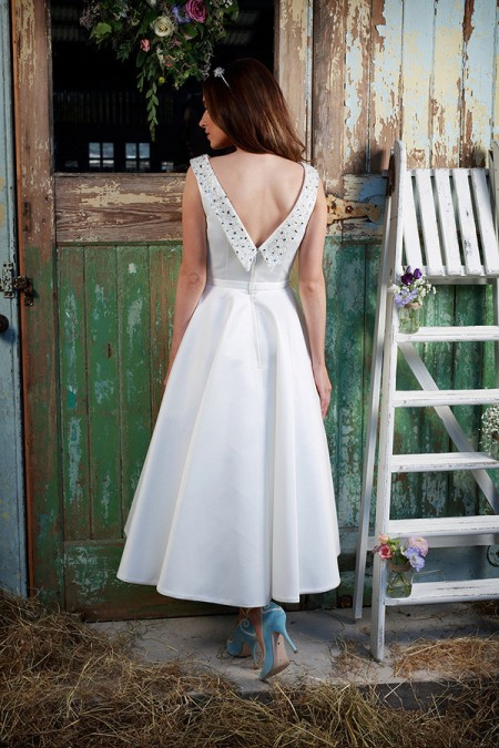 Picture of Back of Aria Wedding Dress - Amanda Wyatt Promises of Love 2016 Bridal Collection