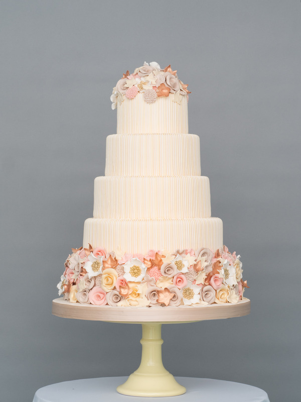 Autumn Affection Wedding Cake from Seasons of Sugar Collection by GC Couture