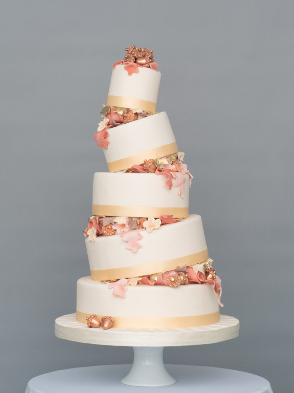 Autumnal Walks Wedding Cake from Seasons of Sugar Collection by GC Couture