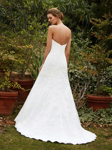 Picture of Back of BT16-05 Wedding Dress - Beautiful by Enzoani 2016 Bridal Collection