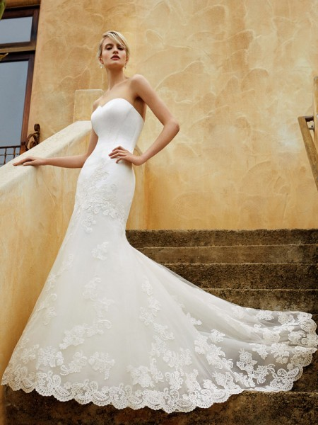 Picture of BT16-06 Wedding Dress - Beautiful by Enzoani 2016 Bridal Collection