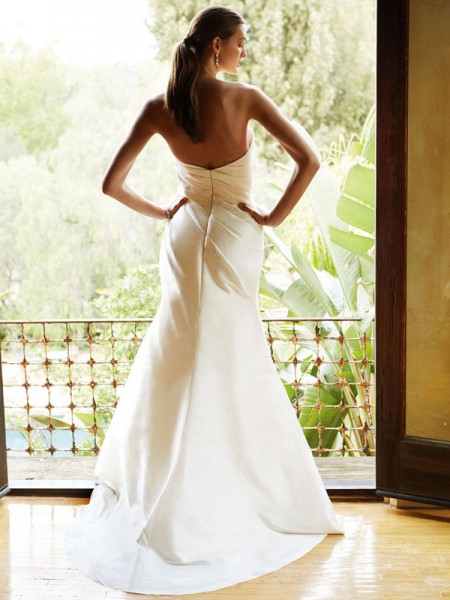 Picture of Back of BT16-17 Wedding Dress - Beautiful by Enzoani 2016 Bridal Collection