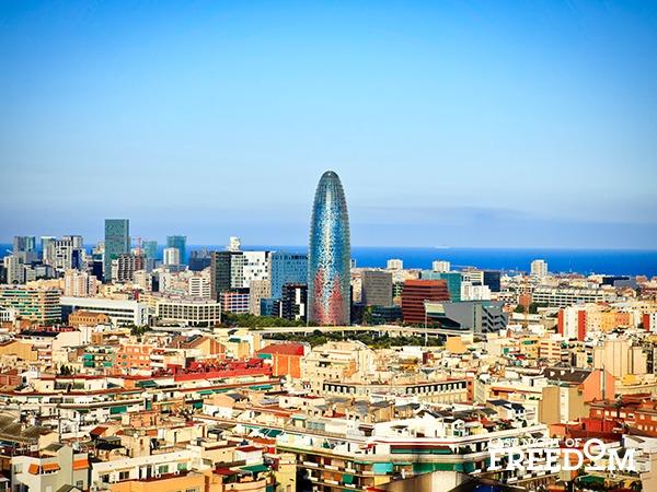 Barcelona, Spain Beach Hen Weekend Location
