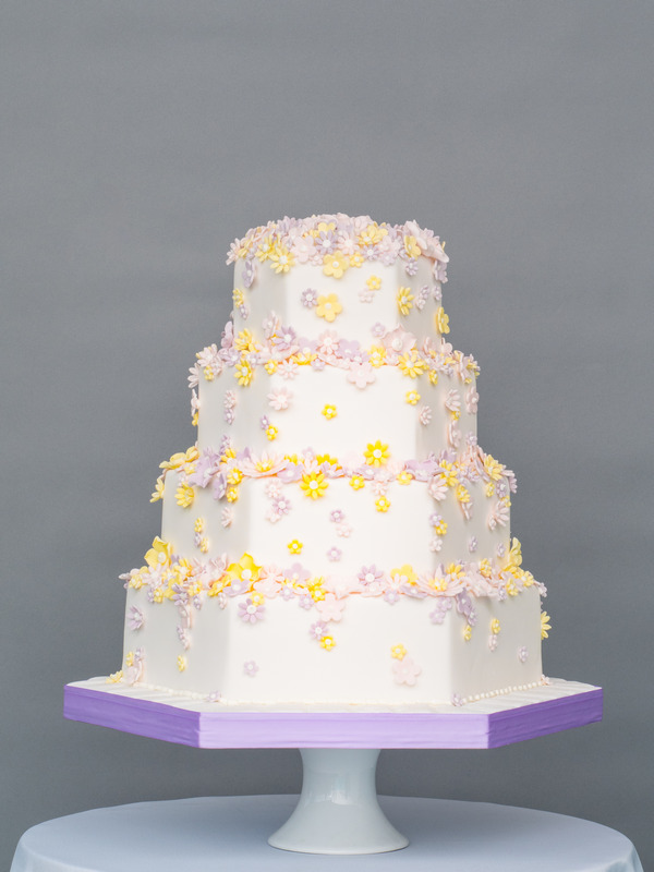 Beautiful Blooms Wedding Cake from Seasons of Sugar Collection by GC Couture