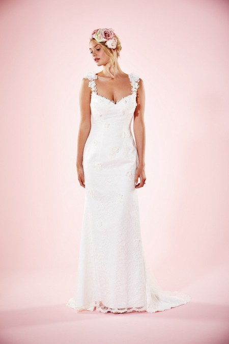 Picture of Beth Wedding Dress - Charlotte Balbier Willa Rose 2016 Bridal Collection