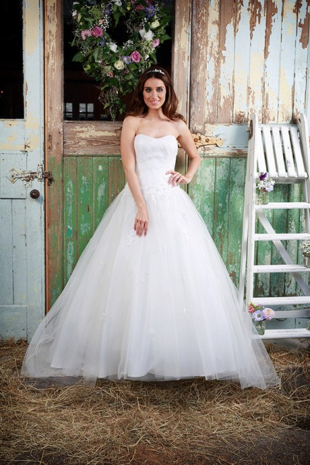 Picture of Blossom Wedding Dress - Amanda Wyatt Promises of Love 2016 Bridal Collection