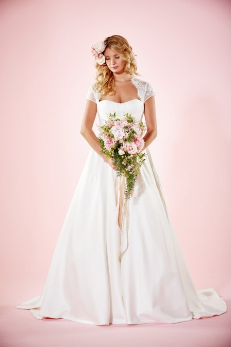 Picture of Camille Wedding Dress - Charlotte Balbier Willa Rose 2016 Bridal Collection