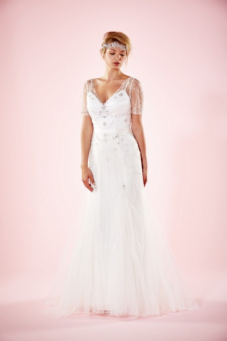 Picture of Cara Wedding Dress - Charlotte Balbier Willa Rose 2016 Bridal Collection