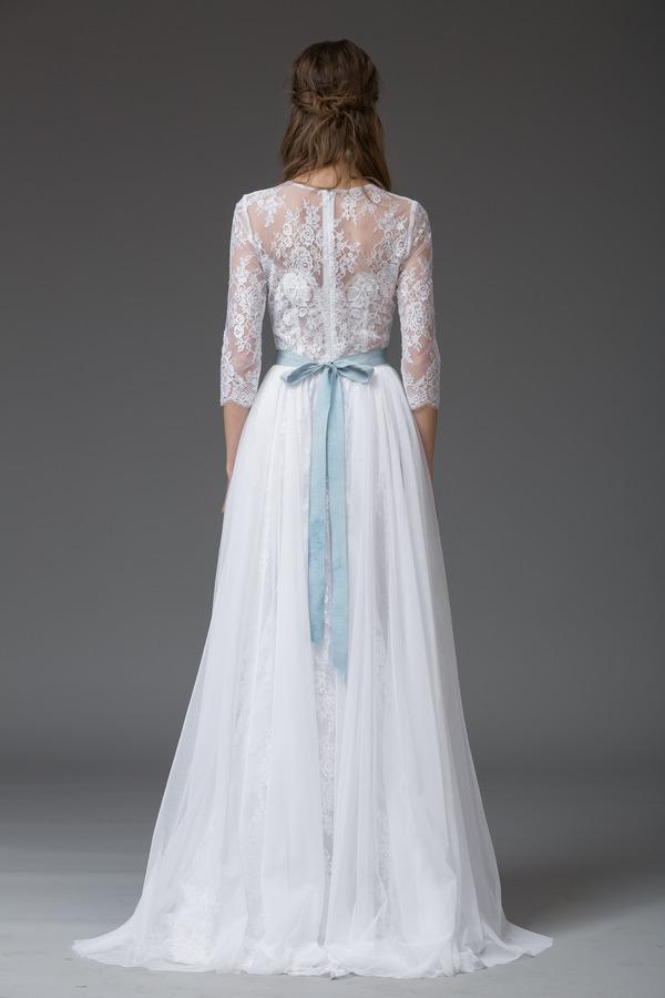Picture of Back of Dina Wedding Dress - Katya Katya Shehurina Venice 2016 Bridal Collection