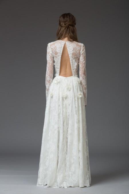Picture of Back of Esta Wedding Dress - Katya Katya Shehurina Venice 2016 Bridal Collection
