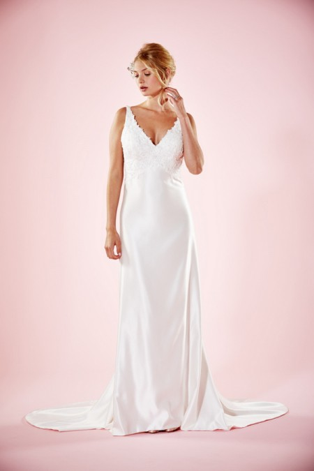 Picture of Everly Wedding Dress - Charlotte Balbier Willa Rose 2016 Bridal Collection