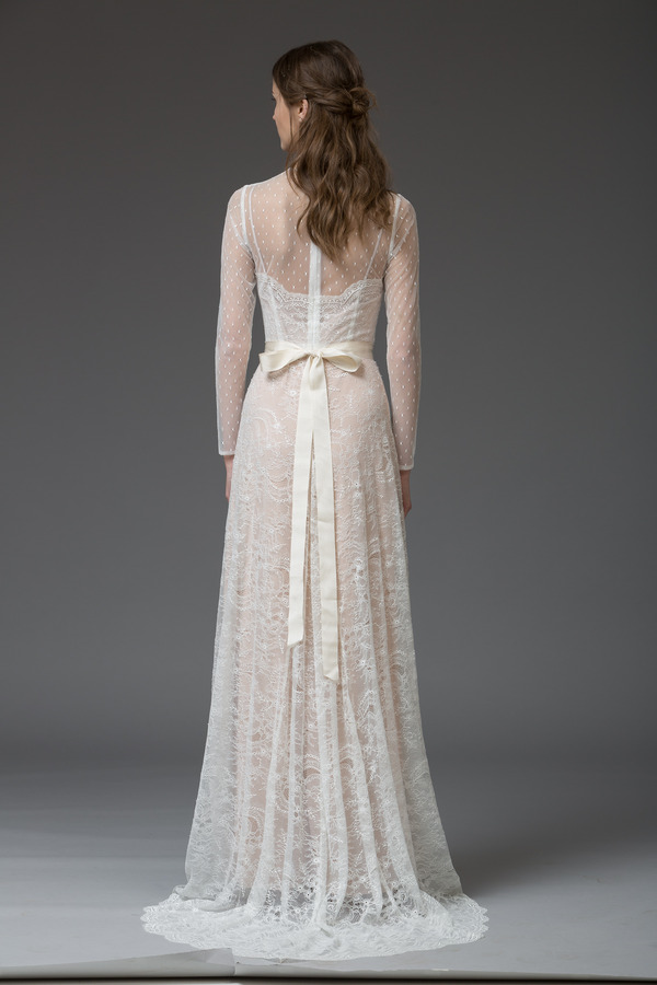 Picture of Back of Francesca Wedding Dress - Katya Katya Shehurina Venice 2016 Bridal Collection