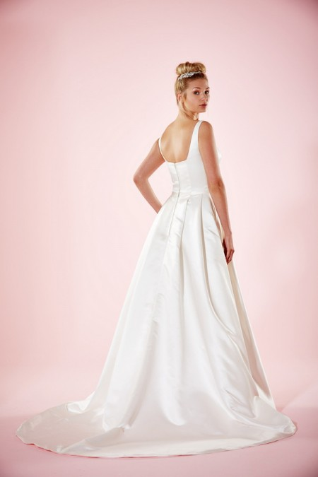 Picture of Back of Hanna Wedding Dress - Charlotte Balbier Willa Rose 2016 Bridal Collection