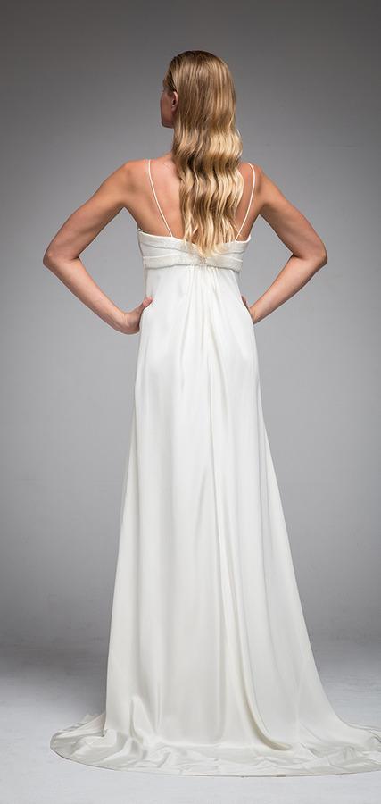 Picture of Back of Harper Wedding Dress - Sarah Janks Elan Fall 2016 Bridal Collection