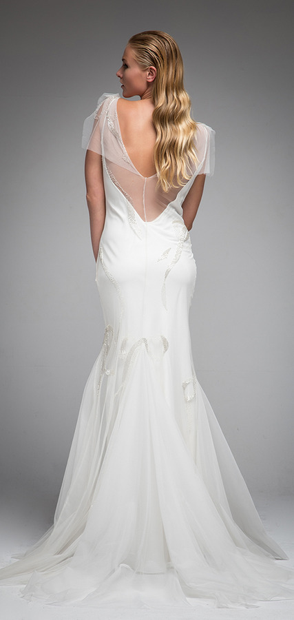 Picture of Back of Hayley Wedding Dress - Sarah Janks Elan Fall 2016 Bridal Collection