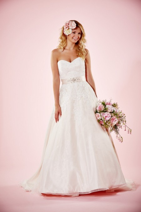 Picture of Heather Wedding Dress - Charlotte Balbier Willa Rose 2016 Bridal Collection