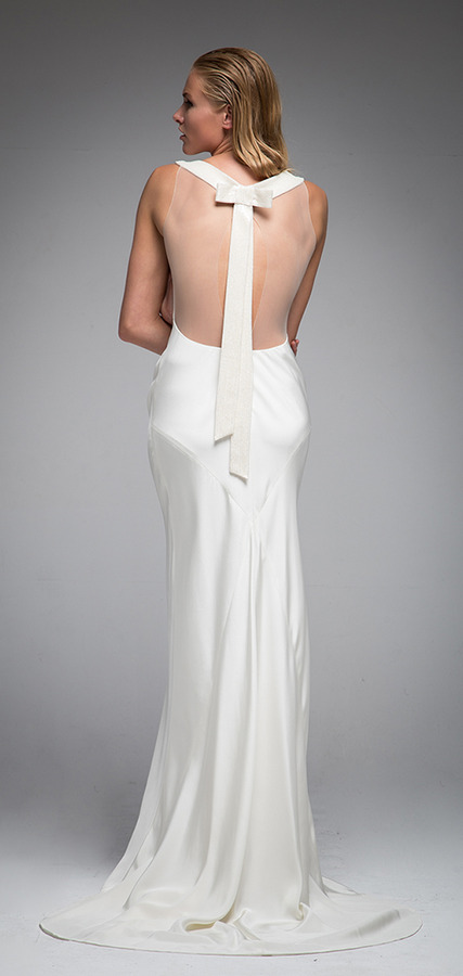 Picture of Back of Helen Wedding Dress - Sarah Janks Elan Fall 2016 Bridal Collection