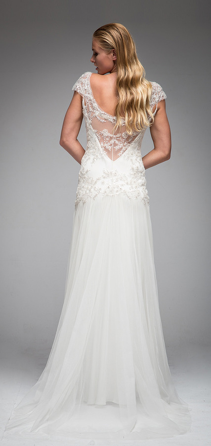 Picture of Back of Holly Wedding Dress - Sarah Janks Elan Fall 2016 Bridal Collection
