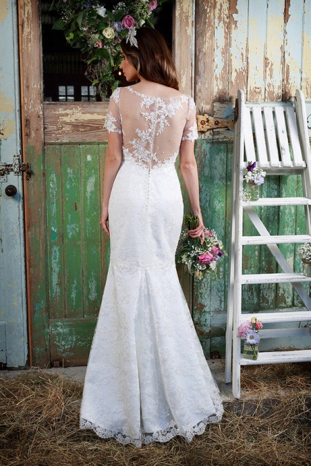 Picture of Back of Honesty Wedding Dress - Amanda Wyatt Promises of Love 2016 Bridal Collection