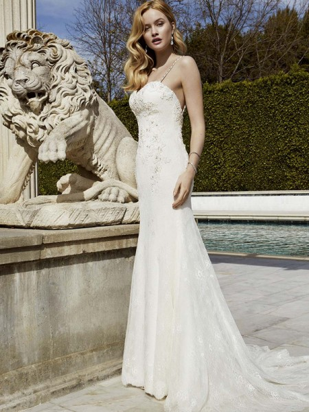 Picture of Idalou Wedding Dress - Blue by Enzoani 2016 Bridal Collection