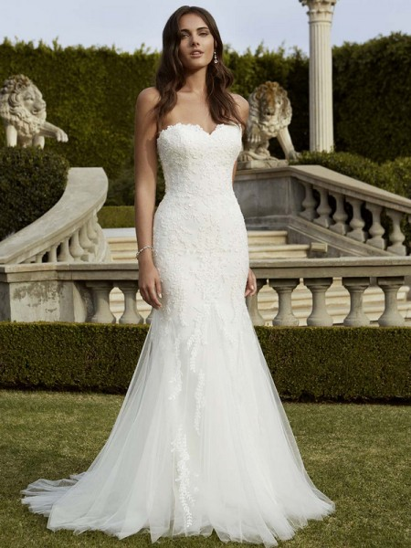 Picture of Indio Wedding Dress - Blue by Enzoani 2016 Bridal Collection
