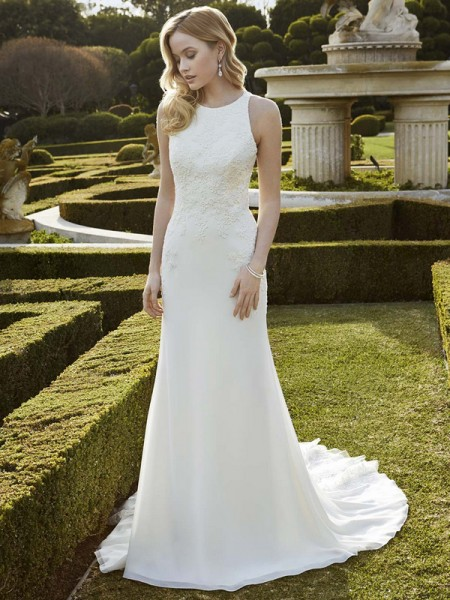 Picture of Ingwiller Wedding Dress - Blue by Enzoani 2016 Bridal Collection