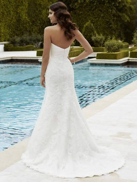 Picture of Back of Innsbruck Wedding Dress - Blue by Enzoani 2016 Bridal Collection