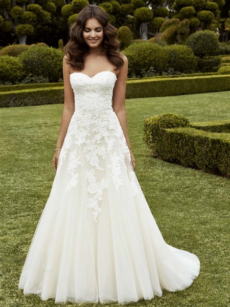 Picture of Ipswich Wedding Dress - Blue by Enzoani 2016 Bridal Collection