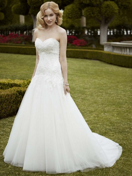 Picture of Irondale Wedding Dress - Blue by Enzoani 2016 Bridal Collection