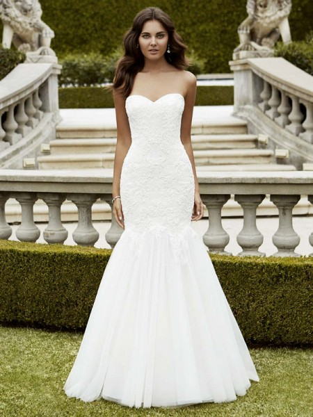 Picture of Isabela Wedding Dress - Blue by Enzoani 2016 Bridal Collection
