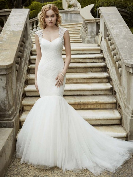 Picture of Ivalo Wedding Dress - Blue by Enzoani 2016 Bridal Collection