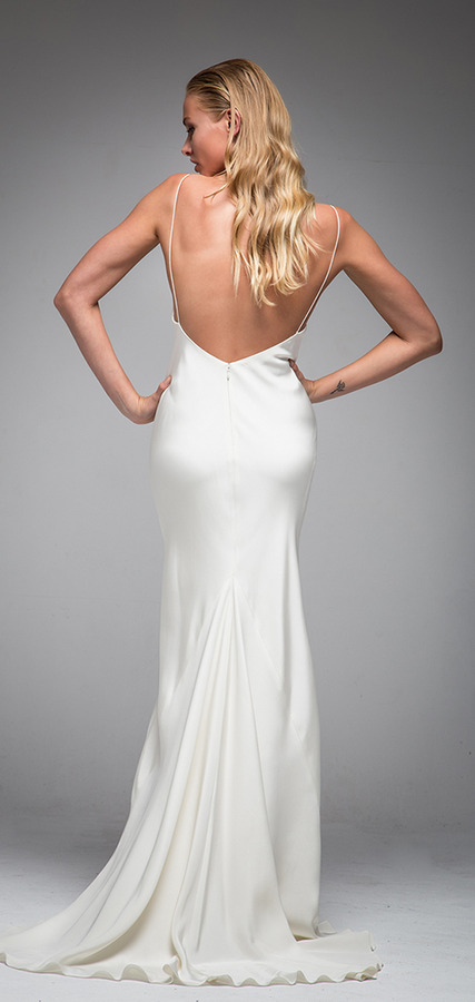 Picture of Back of Ivy Wedding Dress - Sarah Janks Elan Fall 2016 Bridal Collection