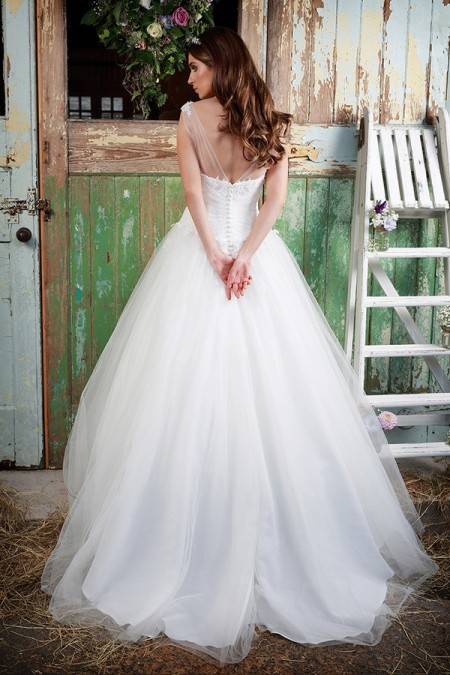 Picture of Back of Jenni Wedding Dress - Amanda Wyatt Promises of Love 2016 Bridal Collection