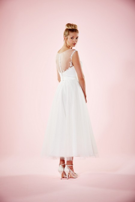 Picture of Back of Kelly Wedding Dress - Charlotte Balbier Willa Rose 2016 Bridal Collection