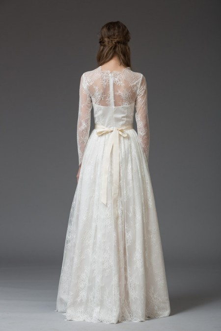 Picture of Back of Lisa Wedding Dress - Katya Katya Shehurina Venice 2016 Bridal Collection