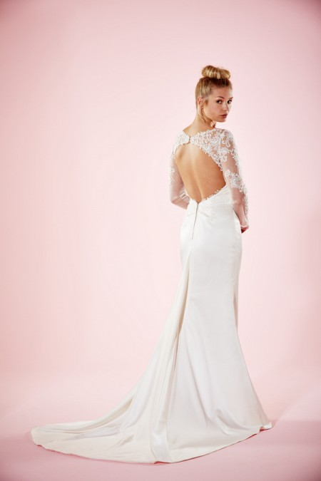 Picture of Back of Loveday Wedding Dress - Charlotte Balbier Willa Rose 2016 Bridal Collection