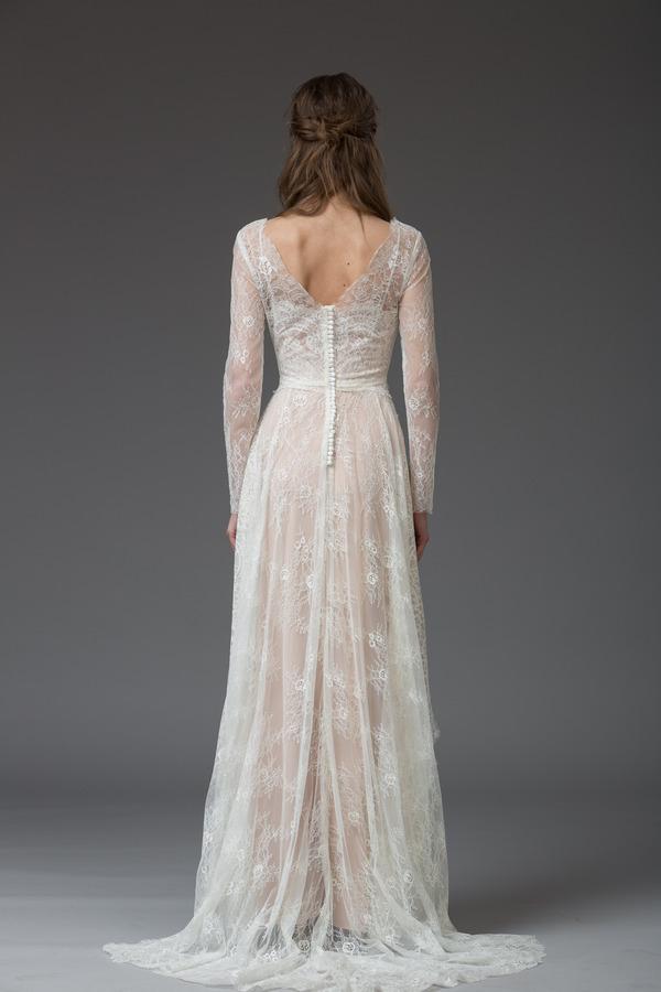 Picture of Back of Lucrezia Wedding Dress - Katya Katya Shehurina Venice 2016 Bridal Collection