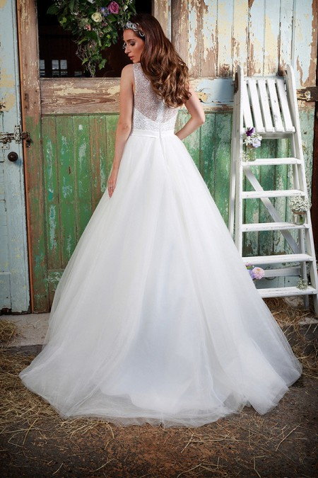 Picture of Back of Luna Wedding Dress - Amanda Wyatt Promises of Love 2016 Bridal Collection
