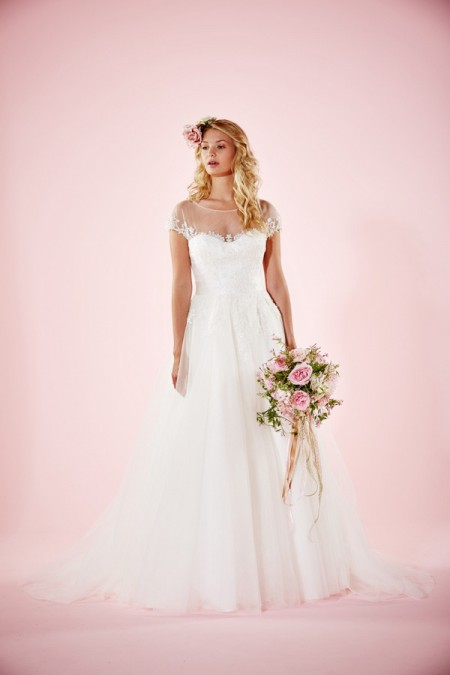 Picture of Lydia Wedding Dress with Skirt - Charlotte Balbier Willa Rose 2016 Bridal Collection