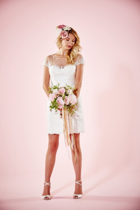 Picture of Lydia Wedding Dress without Skirt - Charlotte Balbier Willa Rose 2016 Bridal Collection