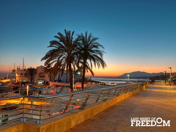 Marbella, Spain Beach Hen Weekend Location