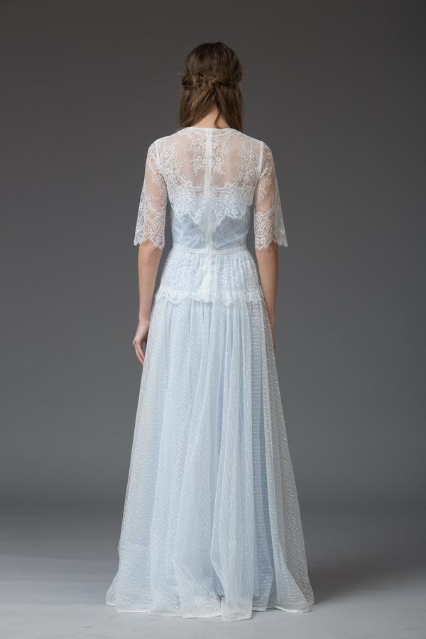 Picture of Back of Maria Wedding Dress with Bolero - Katya Katya Shehurina Venice 2016 Bridal Collection
