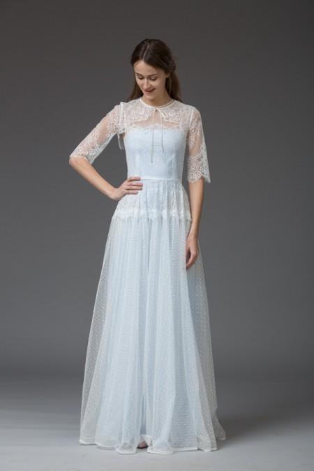 Picture of Maria Wedding Dress with Bolero - Katya Katya Shehurina Venice 2016 Bridal Collection