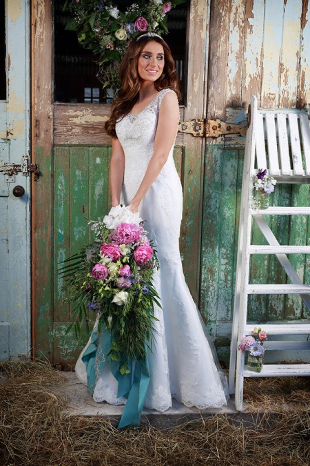 Picture of Mariah Wedding Dress - Amanda Wyatt Promises of Love 2016 Bridal Collection