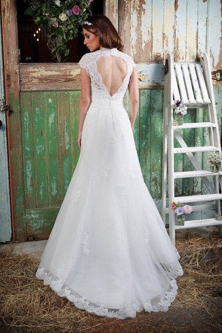 Picture of Back of Matilda Wedding Dress - Amanda Wyatt Promises of Love 2016 Bridal Collection