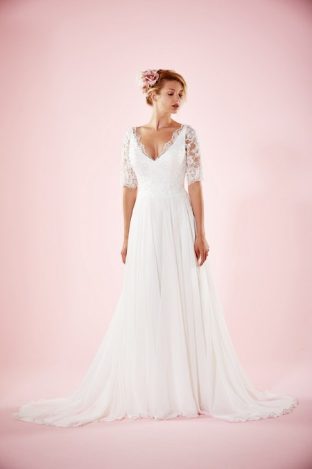 Picture of Maud Wedding Dress - Charlotte Balbier Willa Rose 2016 Bridal Collection