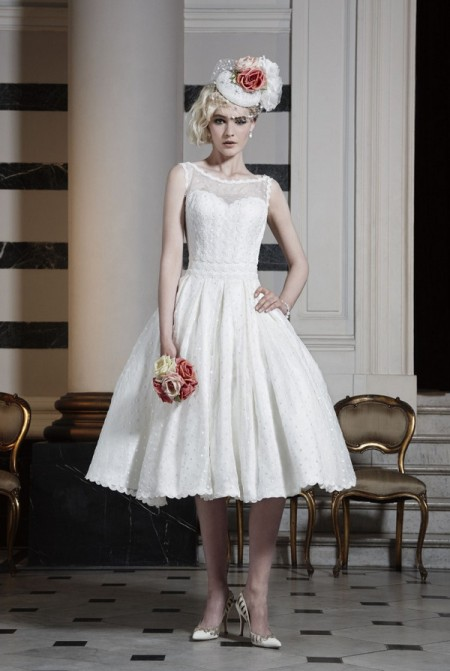 Picture of Mayfair Mini Wedding Dress - Ian Stuart Runway Rebel 2016 Bridal Collection